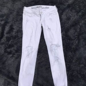 Bullhead Size 1 Distressed Light Jeans